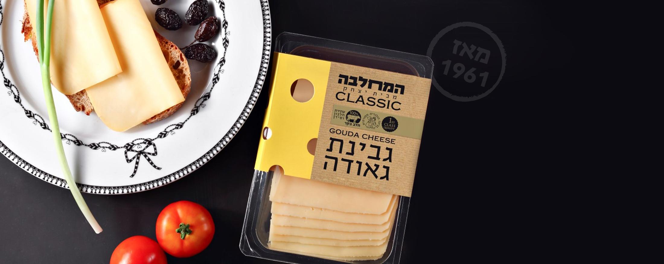 תמונת אווירה - גבינת גאודה